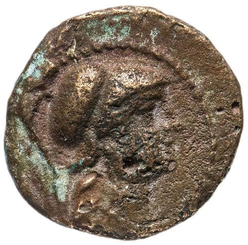Селевкиды, Антиох VII Сидет, 138-129 годы до Р.Х., AE15. (Сова / Афина)