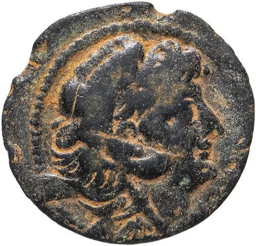 Селевкиды, Александр II Забина, 128-122 гг. до н.э., бронза АЕ21 (Ника)