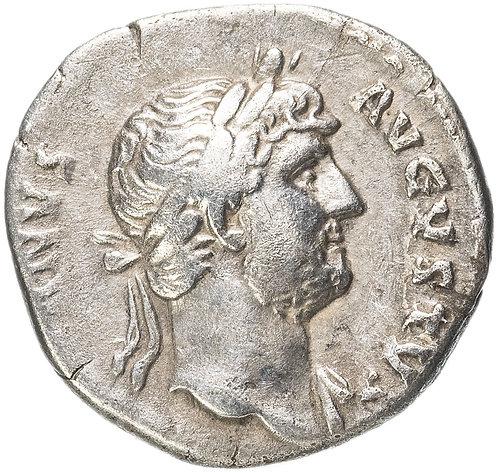 Римская империя, Адриан, 117-138 годы, Денарий.(Пакс) Hadrian, PAX