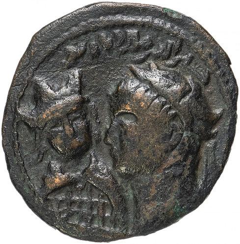 Артукиды Мардина, Хусам Ал-дин Улюк Арслан, 1184-1200 гг, дирхем