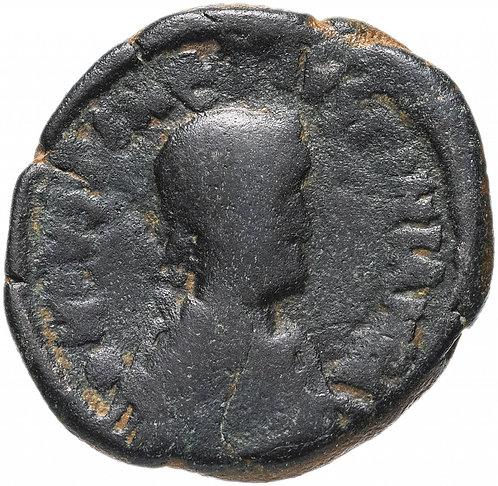 Византийская империя, Юстиниан I с Юстином, 527 год, 20 нуммиев (Полфоллиса).