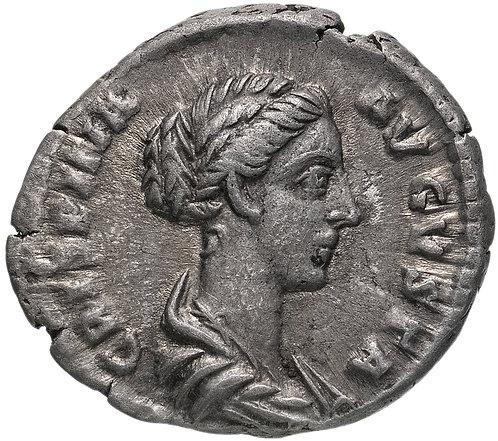 Римская империя , Криспина, супруга Коммода, 180-183 годы, Денарий. Krispina