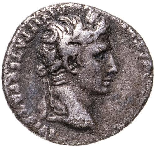 Римская империя, Август, 27 год до Р.Х.-14 год, Денарий. Augustus AR Denarius