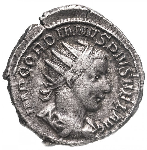 Римская империя, Гордиан III, 238-244 годы, Антониниан. (Аполлон) Gordian III AR