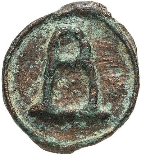Византийская империя, Василий I Македонянин, 867-886 годы, фоллис.Basil I Follis