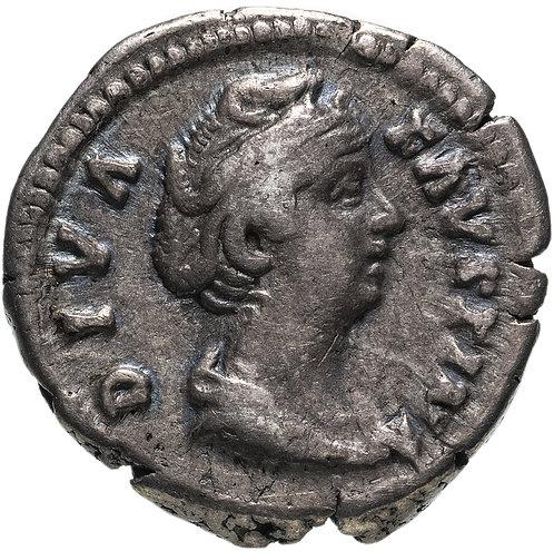 Римская империя, Фаустина Старшая, жена Антонина Пия, Денарий. Faustina I Denar