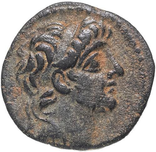 Селевкиды, Антиох IX Кизикский, 116-95 годы до Р.Х., АЕ19. сын Клеопатры Тея