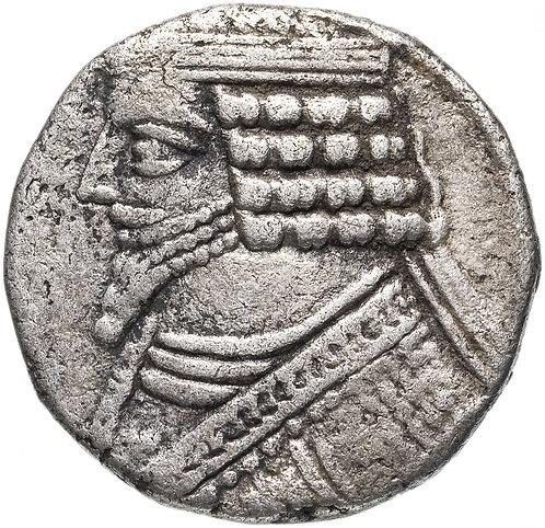 Парфянское царство, Фраат IV, 38-2 годы до Р.Х., тетрадрахма.