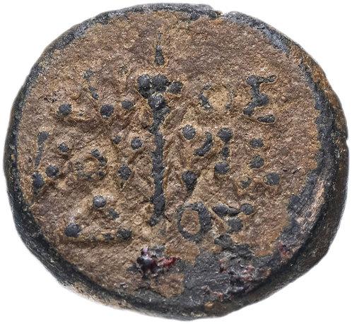 Колхида, Диоскуриада, 120-90 годы до Р.Х., халк.