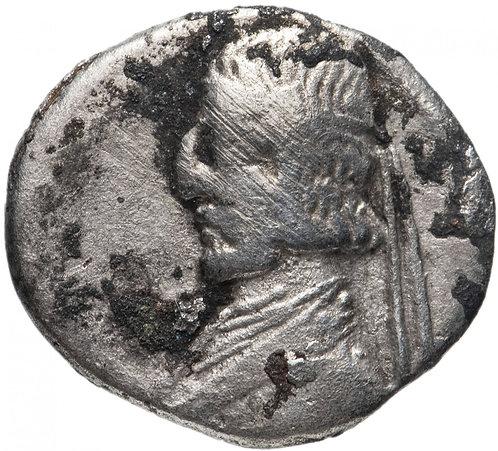 Парфянское царство, Артабан II, 75-62 годы до Р.Х., драхма.