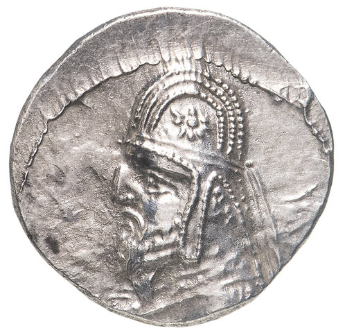 Парфянское царство, Митридат III, 87-79 годы до Р.Х., Драхма. Mithridates III AR