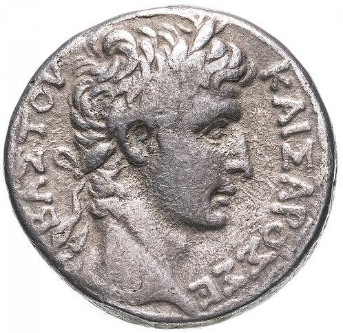 Римская империя, провинция Сирия, Август, 27 год до Р.Х.-14 год, Тетрадрахма.