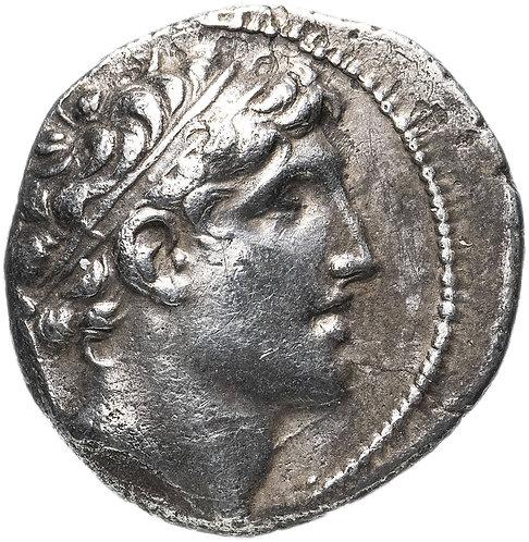 Селевкиды, Александр I Балас, 150-145 годы до Р.Х., Драхма.Alexander I Balas AR.