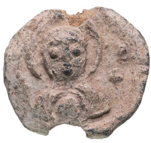 Византийская империя, VII-IX век, моливдовул.(Свинцовая печать) Byzantin