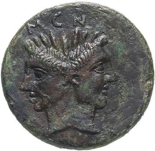 Римская республика, Секст Помпей Магн, 42-38 год до Р.Х., Асс. Sextus Pompey