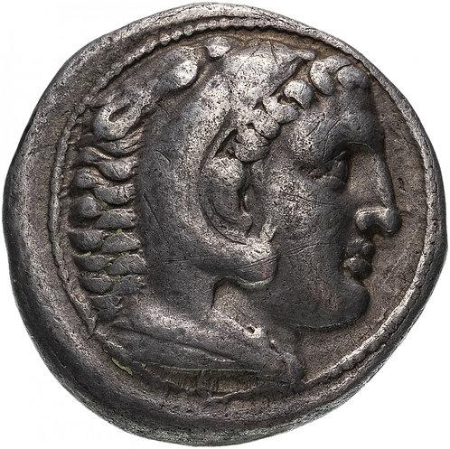 Александр III Великий, 336-323 годы до Р.Х., Тетрадрахма. Деметрий I Полиоркет.