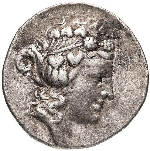 Фракийское царство, Фасос, 148-90/80 годы до Р.Х., тетрадрахма.(Дионис) Phasos
