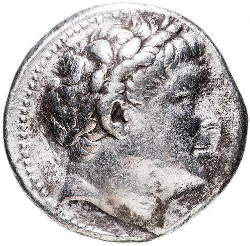 Пергамское царство, Эвмен I, 263-241 гг до Р.Х., Тетрадрахма. Серебро, Eumenes I