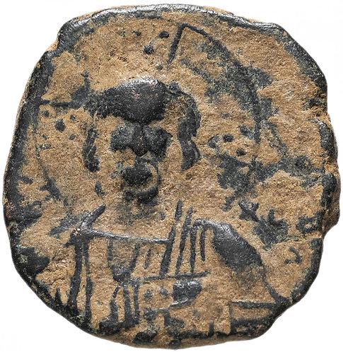 Византийская империя, Василий II и Константин VIII, 976-1025 годы, фоллис.