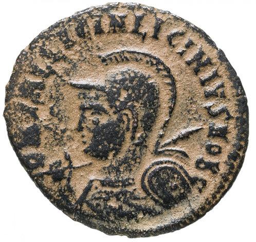Римская империя, Лициний II, 317-324 годы, нуммий.