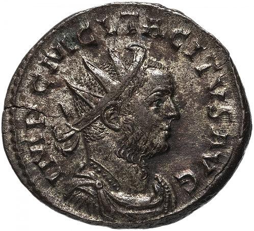 Римская империя, Тацит, 275-276 год, посеребренный Аврелианиан. (Спея) Tacitus