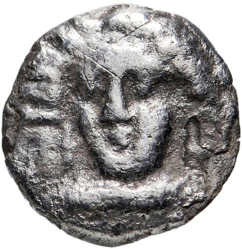 Киликия, 400-350 до.н.э, Обол. (Бес,Бесу)Серебро