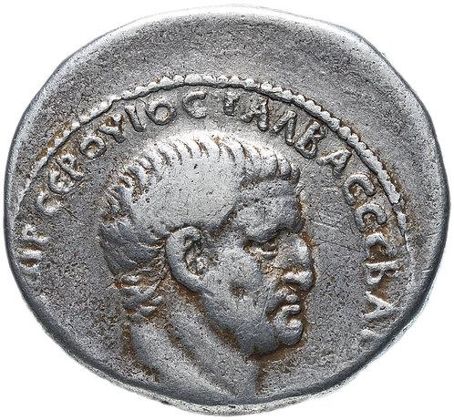 Римская империя, Гальба, 68-69 годы, Тетрадрахма.