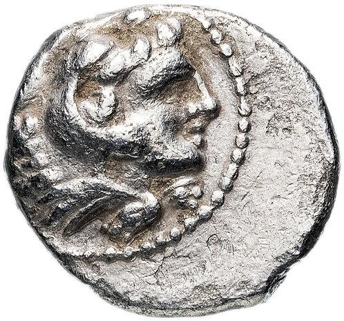 Македония, Александр III Великий, 336-323 годы до Р.Х., Гемидрахма, Вавилон.