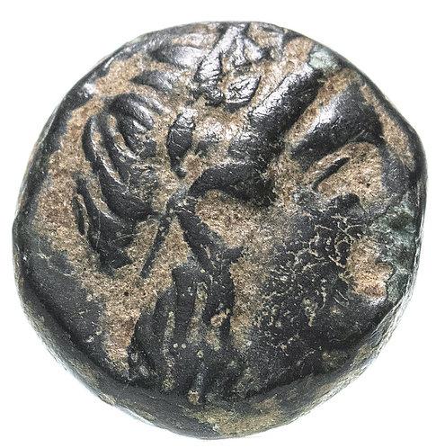 Троада, Антандрос, 400-300 годы до Р.Х., АЕ11. Troas Antandros AE