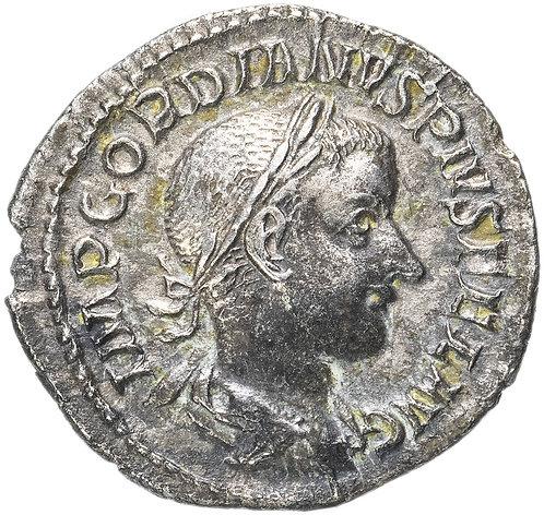 Римская империя, Гордиан III, 238-244 годы, Денарий. (Диана)