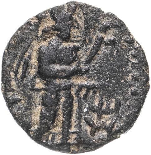 Кушанская империя, Канишка I, 127-151 годы, Драхма. (Капиша) Kanishka I