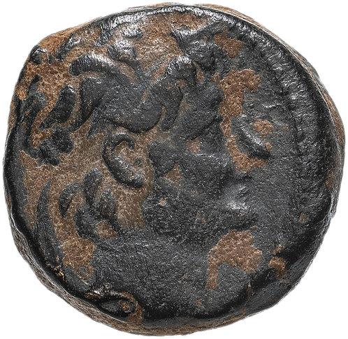 Селевкиды, Александр II Забина, 128-122 гг. до н.э., бронза АЕ19