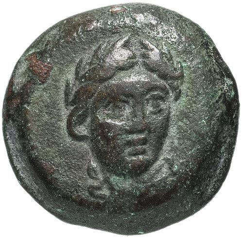 Государство Селевкидов, Антиох I Сотер, 281-261 годы до Р.Х., АЕ17. (Аполлон)