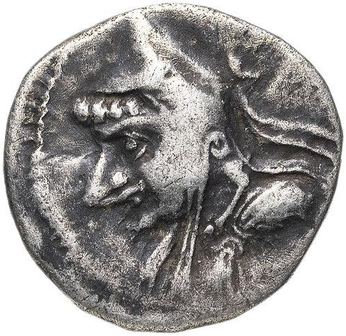 Парфянское царство, Митридат I, 165-132 годы до Р.Х., драхма.