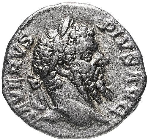 Римская империя, Септимий Север, 193-211 годы, Денарий.(персонификация Африки)