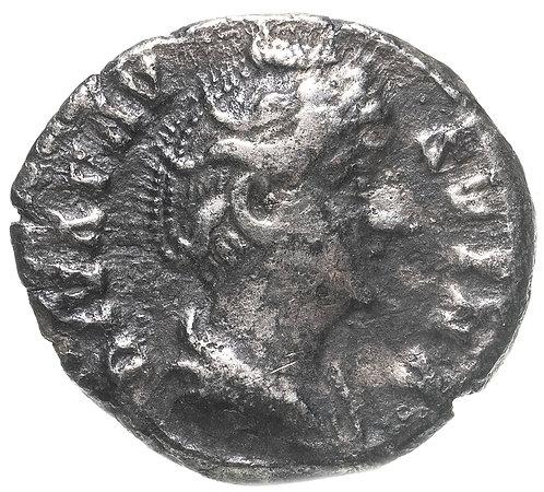 Римская империя, Фаустина Старшая, жена Антонина Пия, Денарий. (Этернитата)