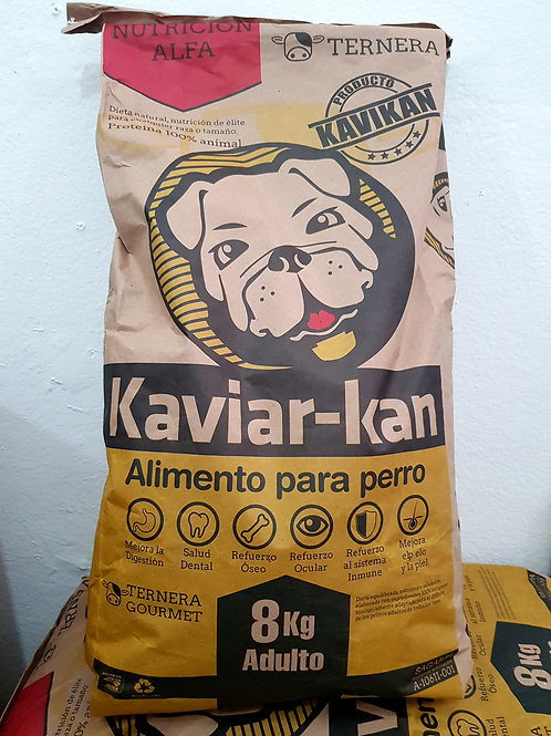 KaviarKan Ternera 8kg