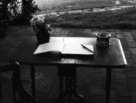 The Blank Page (of life)