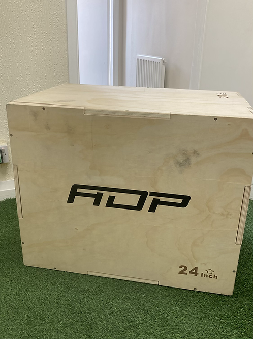 """Wooden 3-in-1 Plyo box (20,24,30"""") - Flat Packed"""