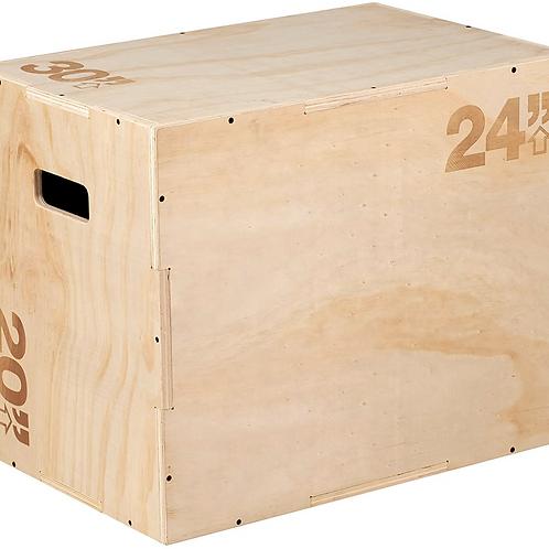 "Wooden 3-in-1 Plyo box (20,24,30"")"
