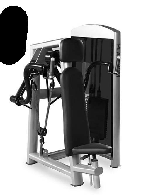 Free Move Shoulder Press - Pin Load Machine