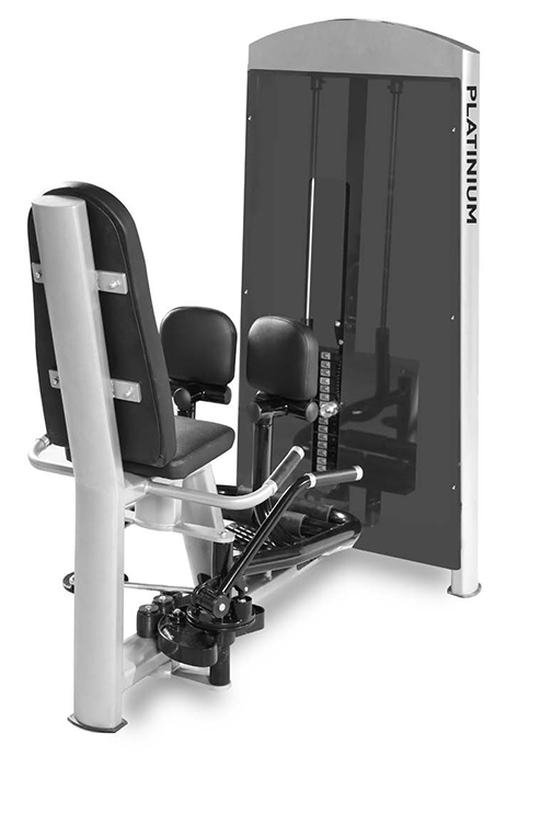 Abductor & Adductor Combo -  Pin Load Machine