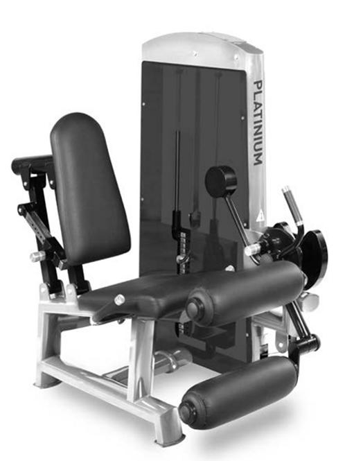Leg Curl/Extension Combo  - Pin Load Machine