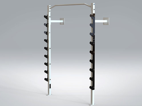 ADP Wall Mounted Power Rack w/ Pull Up Bar