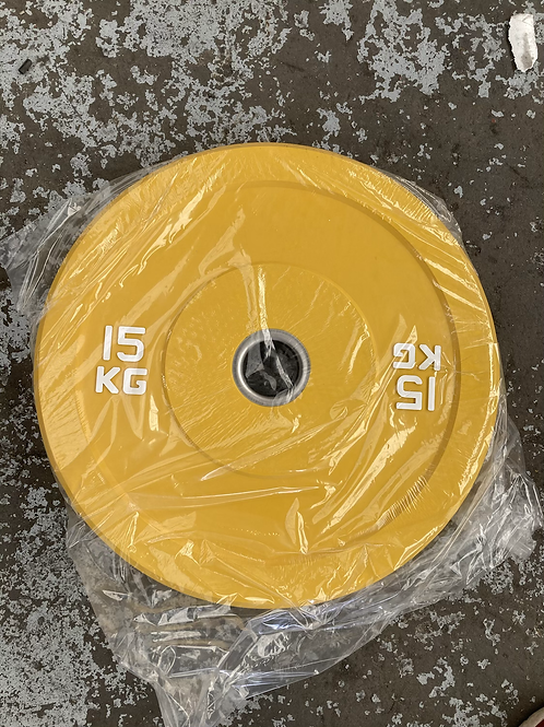 Rubber comp Olympic Bumper Plates (Pairs)