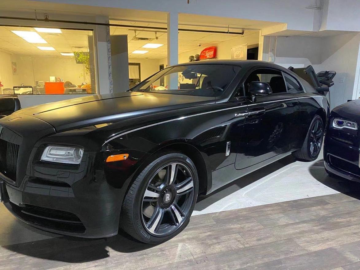 SOLD.     2015 Rolls Royce Wraith