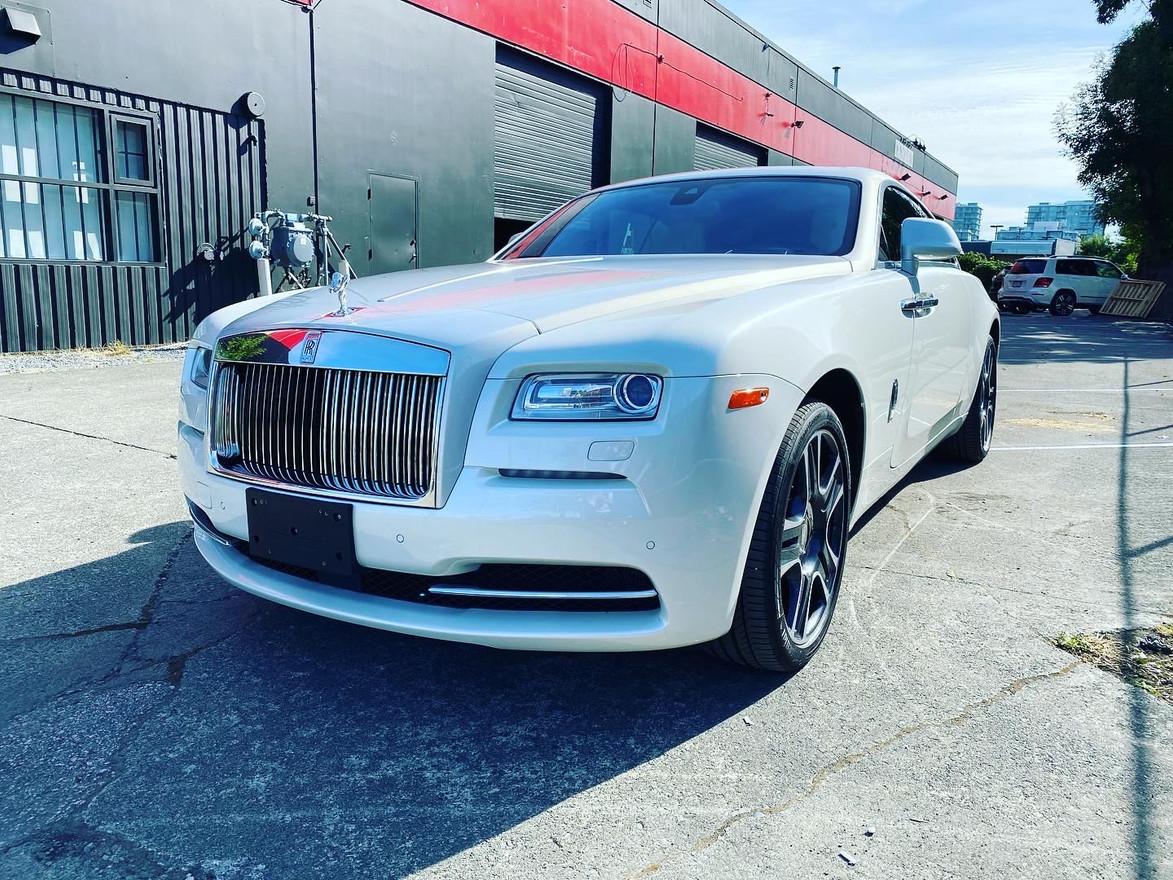 SOLD-- 2016 Rolls Royce Wraith