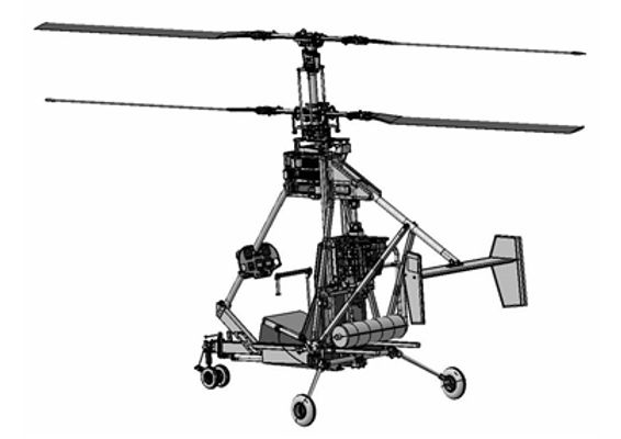 РД-Хели соосный вертолет