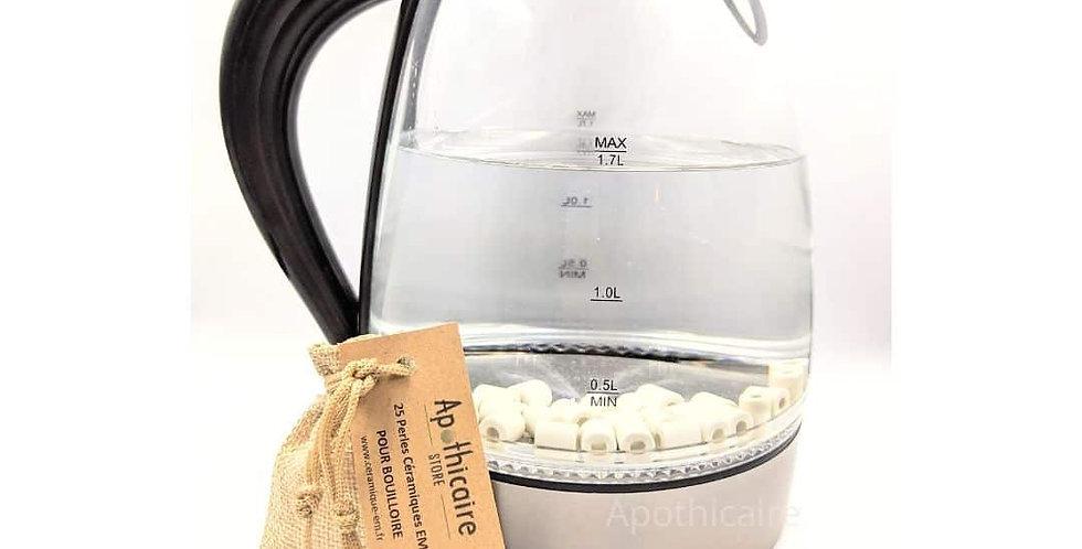 Pour BOUILLOIRE - 25 Perles Céramique EM®