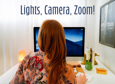 Lights, Camera, Zoom! How to stage your home office like a professional